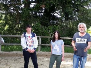 Les 3ème Prépa pro à Oradour : atelier équestre - Mai 2017